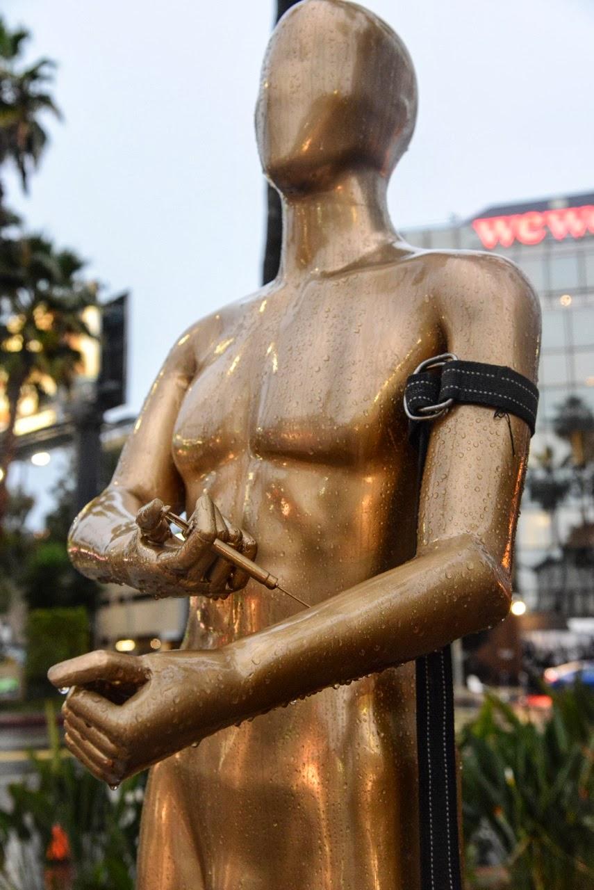 "Plastic Jesus ""Hollywood Best Kept Secret"" New Installation - Los Angeles, USA"