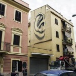 Escif New Mural In Roma, Italy