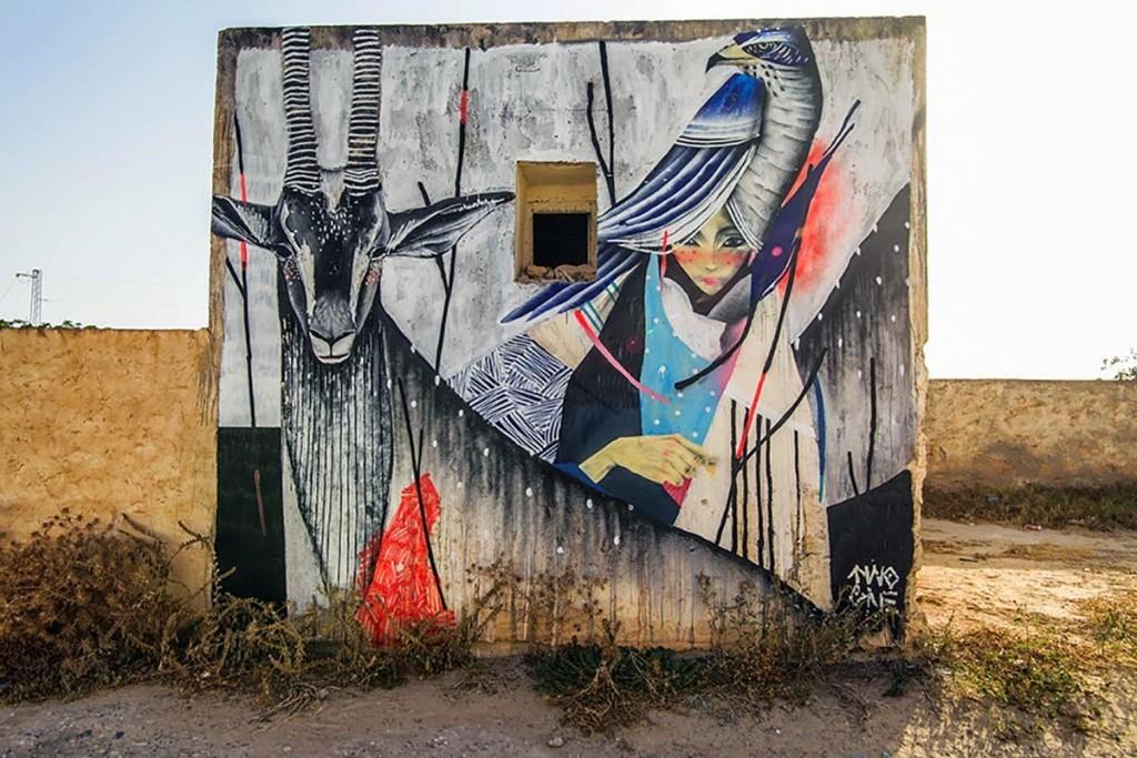 TWOONE New Mural – Djerba, Tunisia