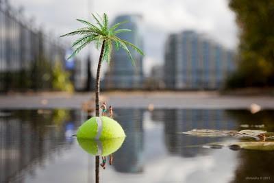 Slinkachu  Blog Update – The Last Resort