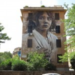 Guido Van Helten for Big City Life in Rome, Italy