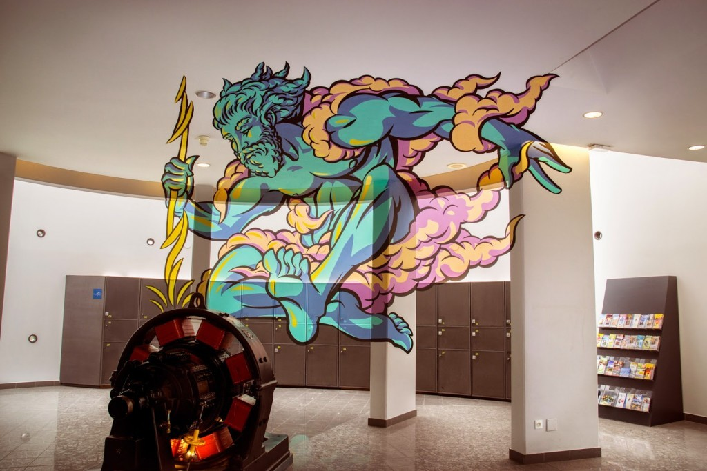 """Truly Design unveils """"Zeus"""" a new anamorphic piece in Mulhouse, France"""