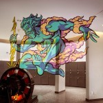 "Truly Design unveils ""Zeus"" a new anamorphic piece in Mulhouse, France"
