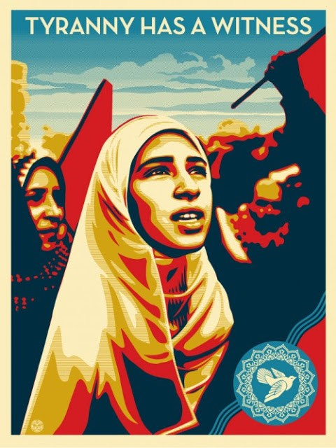"""Shepard Fairey """"Tyranny Has A Witness"""" New Print Available December 13th"""