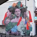 Fran Bosoletti creates a new piece in Bergamo, Italy