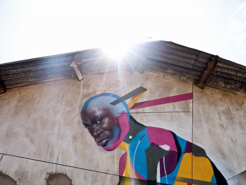 Remi Rough x Best Ever New Mural – Galloya, Gambia