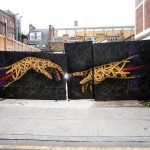 """Otto Schade """"You've Got The Power"""" New Mural In London"""