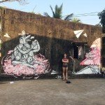 VitaeViazi paint a series of new pieces in Goa, India