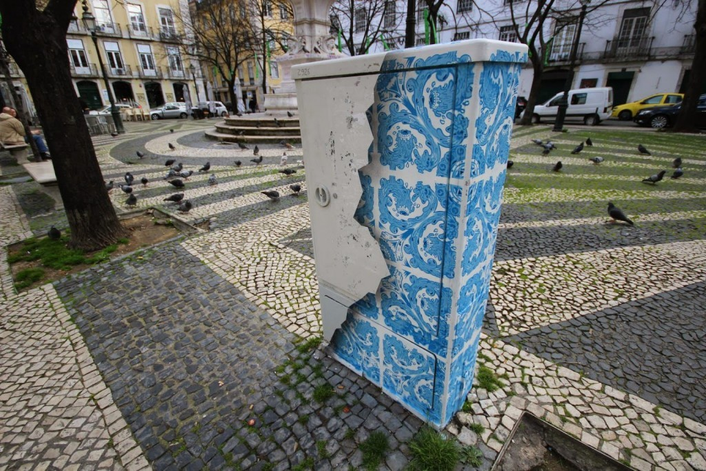 Add Fuel creates a new piece on the streets of Lisbon