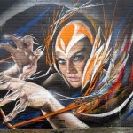 Adnate x Shida New Mural – Wollongong, Australia