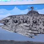Alexis Diaz New Mural In Vienna, Austria