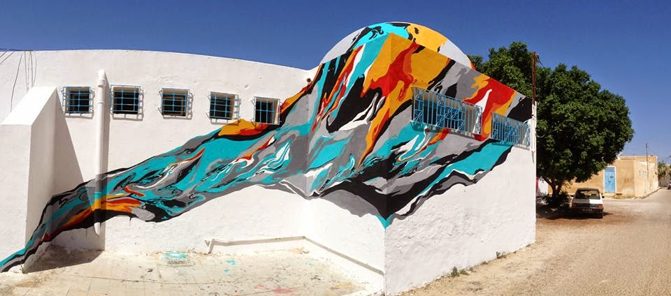 Arraiano New Mural – Djerba, Tunisia