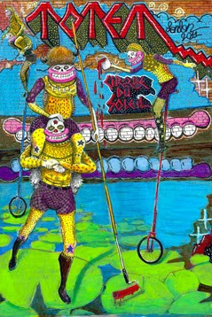 Jon Burgerman, Sweet Toof and Glenn Anderson for Cirque Du Soleil New Prints Available Today