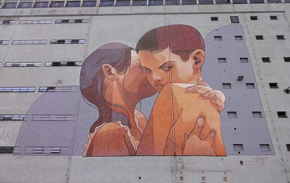 Aryz New Mural – Linz, Austria