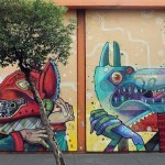 Aryz x Saner New Mural In Mexico City