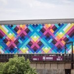 Maya Hayuk New Mural For Asphalte Festival – Charleroi, Belgium