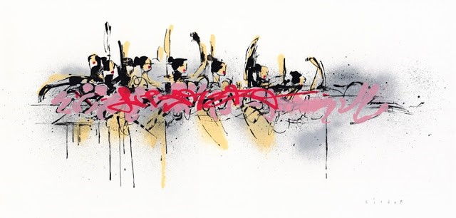 """Anthony Lister """"Ballerinas In Motion"""" New Print Available Today"""