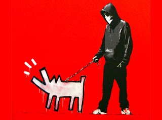"BANKSY ""Choose Your Weapon"" Print In Store Queue"