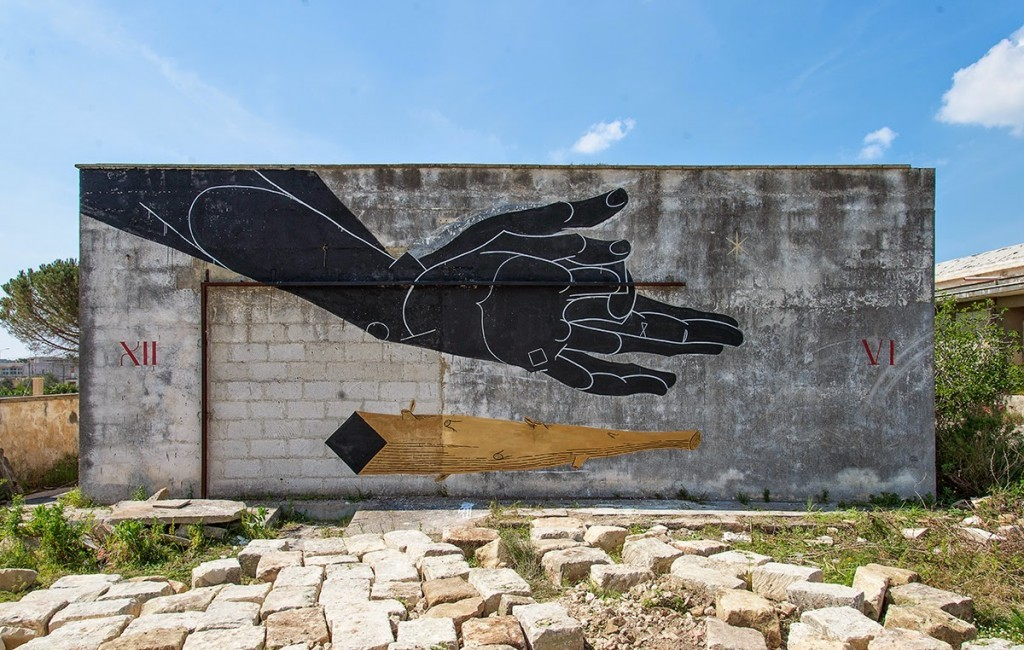 Basik New Mural For The ViaVai Project – Racale, Italy (Part II)