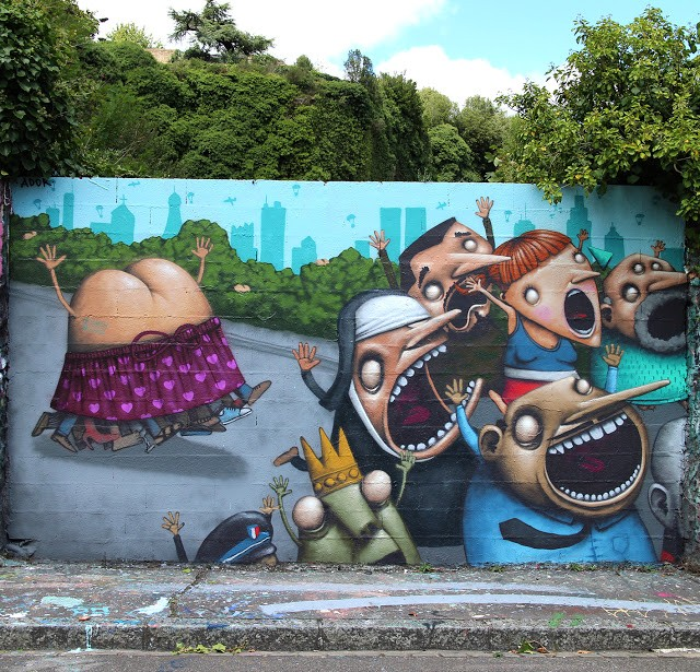 Ador creates a brilliant piece in Nantes, France