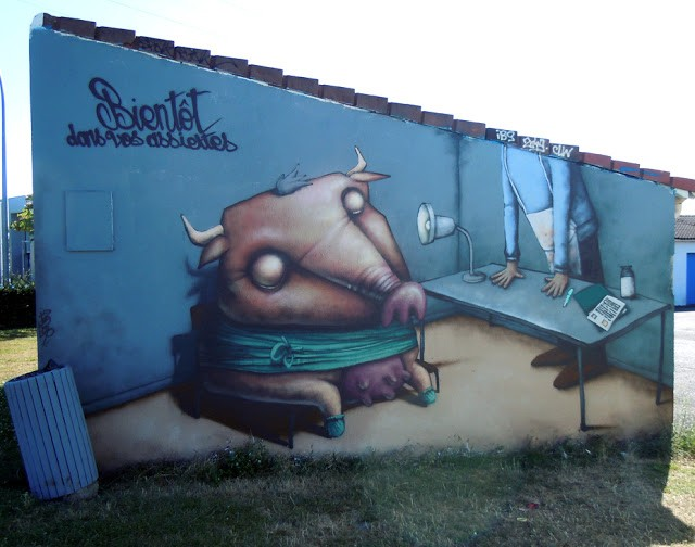 Ador New Mural In Nantes, France