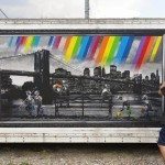 "Roamcouch ""Rainbow Inc./Brooklyn Bridge"" New Mural – Gifu, Japan"