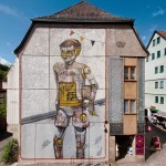 Pixel Pancho New Mural For WallCome – Schmalkalden, Germany