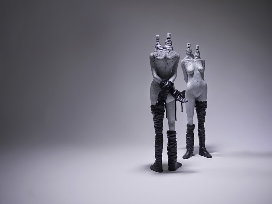 "BomK ""Aérotik"" Limited Edition Sculptures"
