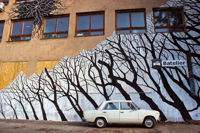 Pablo S. Herrero New Mural – Bratislava, Slovakia