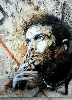 """Shadows and Reflexion"" Group Show With C215, Vhils, Blek Le Rat… Paris 25th June"