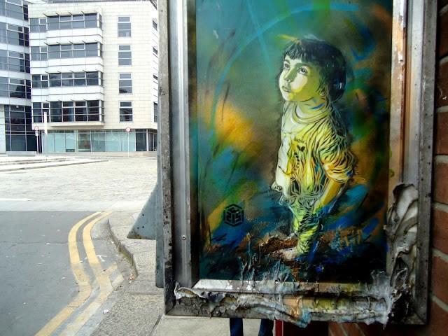 C215 New Street Pieces In Dublin, Ireland (Part II)