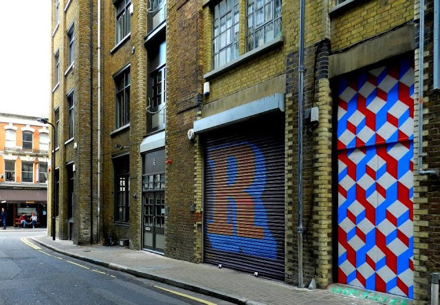 Carl Cashman New Mural In London