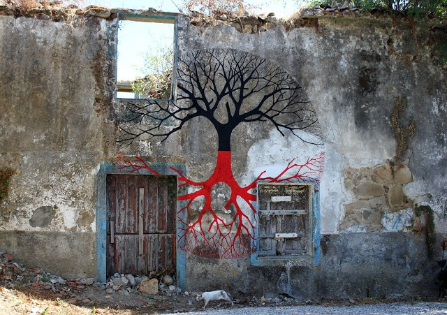 Pablo S. Herrero New Street Art In Noia, Spain