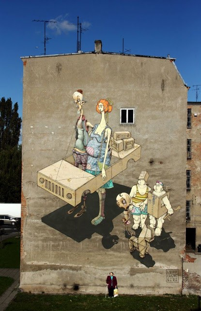 Sepe x Chazme x Lump New Mural In Szczecin, Poland