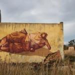 "Sepe ""Chilling On The Mine Field"" New Mural – Kluczbork, Poland"