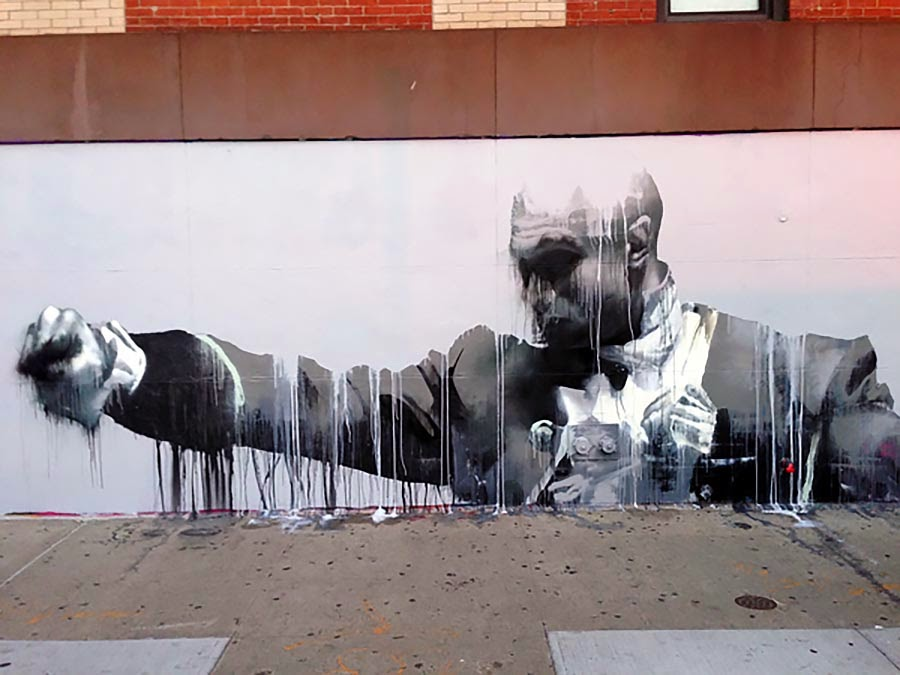 Conor Harrington creates a new piece for The Lisa Project in New York