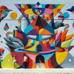 Remed x Okuda New Mural – Wynwood, Miami