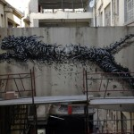 "DAL ""Adrenalin"" New Mural In Progress, Cape Town, South Africa"