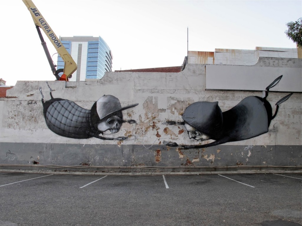 Stormie Mills New Mural For Public Festival – Perth, Australia