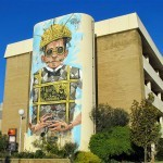 Pixel Pancho New Mural For Public Festival – Perth, Australia
