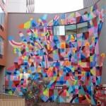 Maya Hayuk New Mural For Public Festival – Perth, Australia