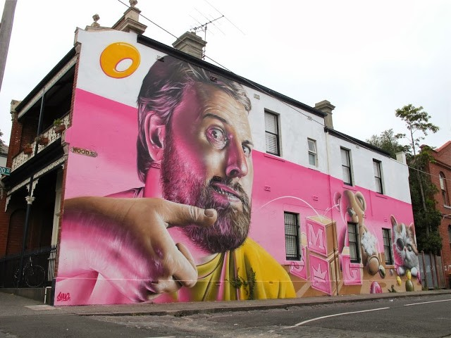 Smug New Mural – Fitzroy, Melbourne