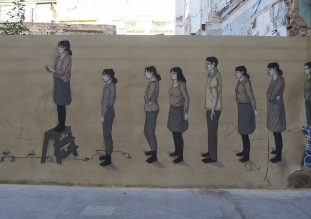 Hyuro New Street Piece – Valencia, Spain (Part III)