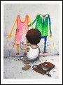 Dran 'I Have Chalks' New Print Available 2nd December