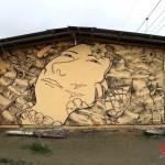Liqen x Nantu New Mural In Tonsupa, Ecuador