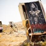 Eddie Colla & Nite Owl collaborate on a series of pieces in Goldfield, Nevada