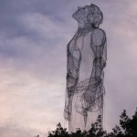 Edoardo Tresoldi brings his giant sculptures to Roskilde Festival in Denmark
