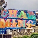 """Ben Eine is """"Charming"""" in Laguna Beach, USA"""