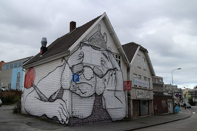 Nuart '15: Ella & Pitr unveil a third mural in Stavanger, Norway