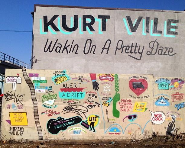 Steve Powers New Mural in Philadelphia, USA